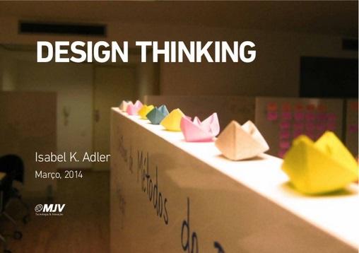 Webinar: Design Thinking   MJV Tecnologia & Inovação